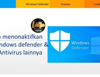 cara menonaktifkan windows defender